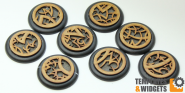 Druidic Base Inlays - 40mm