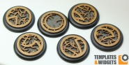 Druidic Base Inlays - 50mm