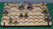 Single Army Tray, Variant 1