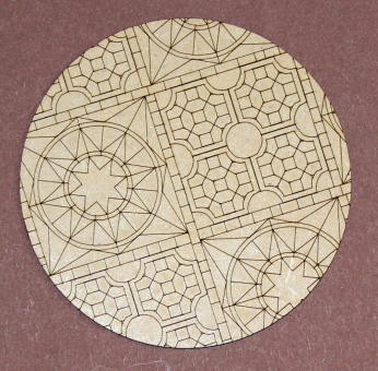 Temple Base Inlay - 120mm
