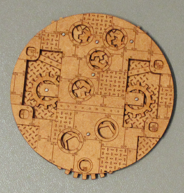 Clockwork Base Inlay - 120mm