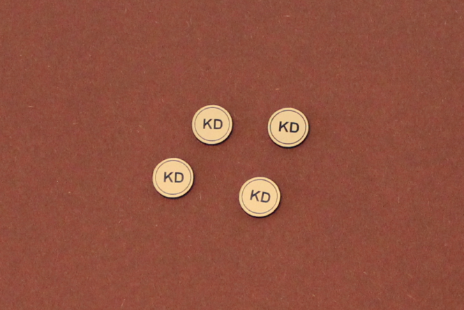 12mm Round Token - customizable
