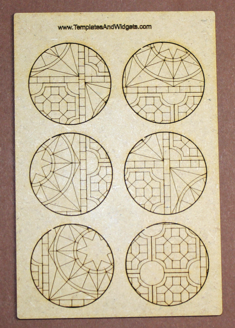 Temple Base Inlays - 50mm